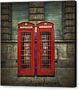 London Calling Canvas Print by Evelina Kremsdorf