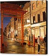 London Chinatown Canvas Print
