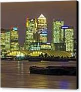 London Docklands Canvas Print by Dawn OConnor