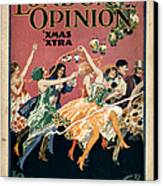 London Opinion 1919 1910s Uk First Canvas Print by The Advertising Archives