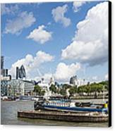 London Panoramic Canvas Print by Donald Davis