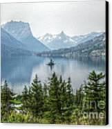 Lonely Island Among Giants Canvas Print