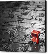 Lonely Little Robot Canvas Print by Scott Norris