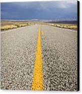 Long Lonely Road Canvas Print