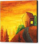 Long Way To Home Canvas Print