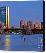 Longfellow Bridge Canvas Print
