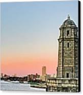 Longfellow Bridge Tower Canvas Print