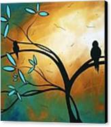 Longing By Madart Canvas Print