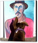 Lookin At You Dad Canvas Print