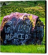 Lordy Lordy Canvas Print by Jon Burch Photography