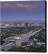Los Angeles Canvas Print by Pro Shutterblade