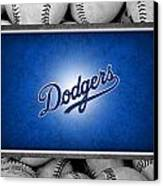 Los Angles Dodgers Canvas Print by Joe Hamilton