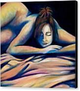 Lost In Serenity Canvas Print by Debi Starr