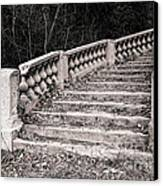 Lost Staircase Canvas Print by Olivier Le Queinec