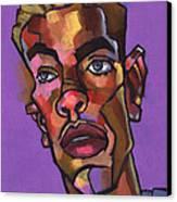 Louie After His Shower Canvas Print by Douglas Simonson