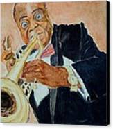 Louis Armstrong 1 Canvas Print