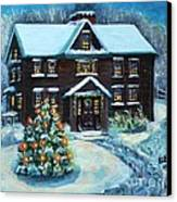 Louisa May Alcott's Christmas Canvas Print