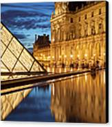 Louvre Reflections Canvas Print by Brian Jannsen