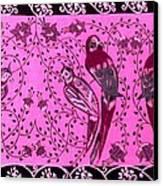 Love Birds Canvas Print by Karunita Kapoor