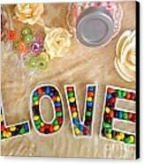 Love Candies Canvas Print by Lars Ruecker
