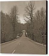 Love Gap Blue Ridge Parkway Canvas Print by Betsy Knapp