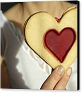 Love Heart Valentine Canvas Print