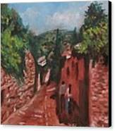 Love In Fiesole Florence Italy Canvas Print