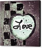 Love Is All You Need Canvas Print by Patricia Januszkiewicz