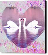 Love Is Everywhere Canvas Print by Bill Cannon