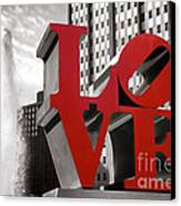 Love Canvas Print by Olivier Le Queinec