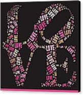 Love Quatro - S08a Canvas Print by Variance Collections