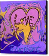 Love Triumphant Canvas Print by Kenneth James