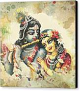 Lovely Couple 2 Canvas Print