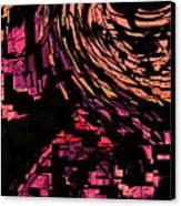 Lovers Swirling Canvas Print by David Skrypnyk