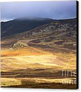 Low Cloud Over Highlands Canvas Print