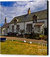 Low Newton By The Sea Canvas Print by Louise Heusinkveld