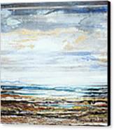 Low Tide Hauxley Haven No10 Canvas Print