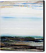 Low Tide Hauxley Haven1a Canvas Print by Mike   Bell