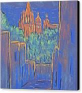 Lower San Miguel De Allende Canvas Print by Marcia Meade