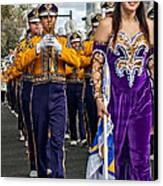 Lsu Marching Band 5 Canvas Print by Steve Harrington