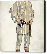 Luke Skywalker - Mark Hamill  Canvas Print by Ayse Deniz