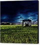 Lurking Canvas Print by John Monteath