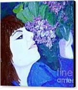 Lush Lilacs Canvas Print