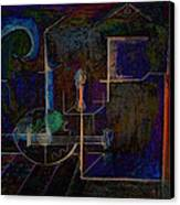 Lute By Night Canvas Print