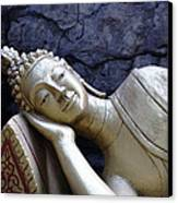Lying Buddha Canvas Print