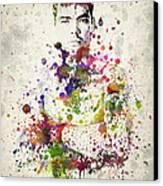 Lyoto Machida Canvas Print