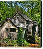 Mabry Mill Canvas Print by Heather Allen