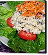 Macaroni Salad 2 Canvas Print by Andee Design