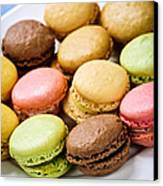 Macaroon Cookies Canvas Print