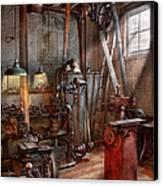 Machinist - The Modern Workshop  Canvas Print